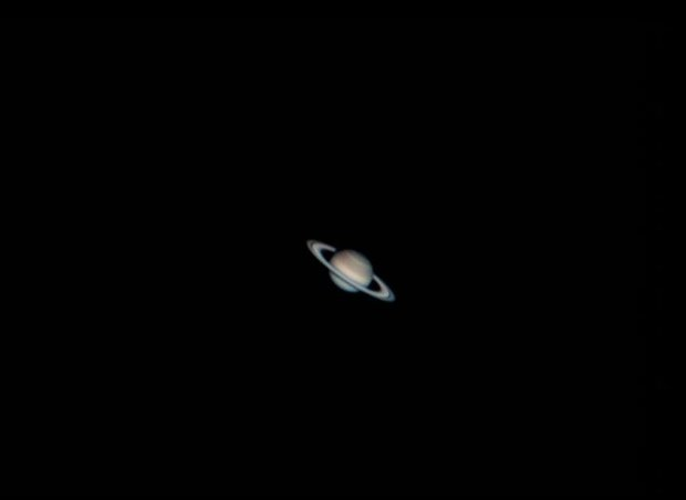 Saturn with New DMK21camera