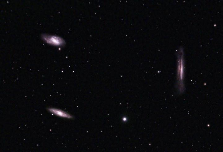 The Leo Galaxy Triplet