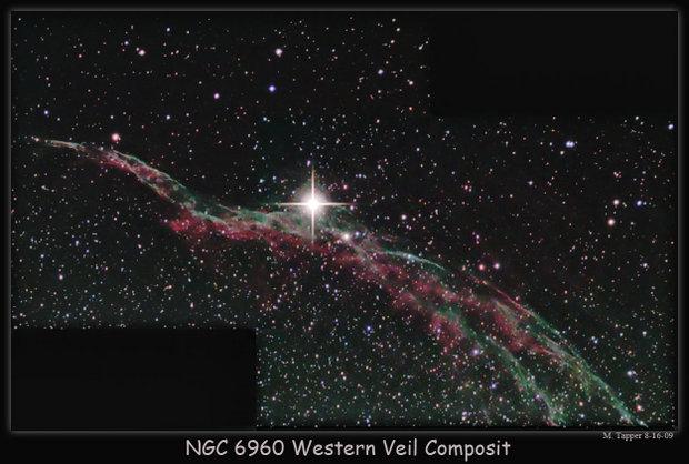 NGC 6960 Western Veil Composite
