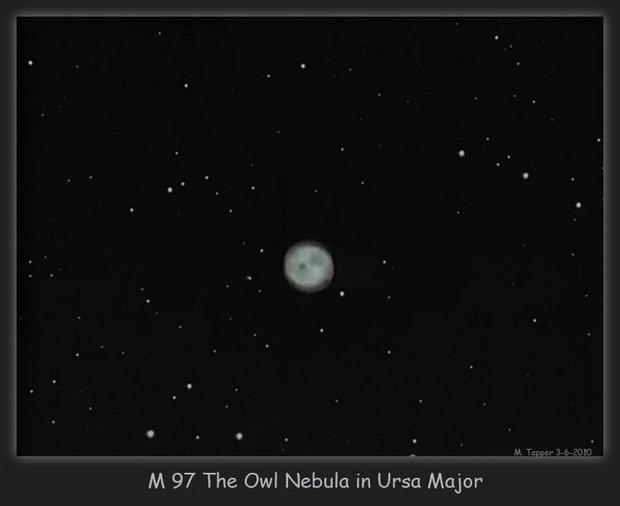 M97 The Owl Nebula in Ursa Major