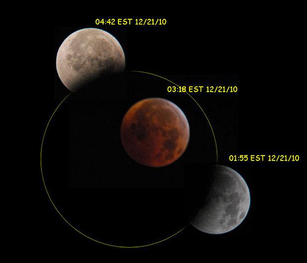 Lunar Eclipse night of 20th Dec 2010.