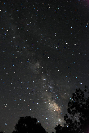 Southern Milky Way (Sagittarius etc).  The Hub of the Galaxy.