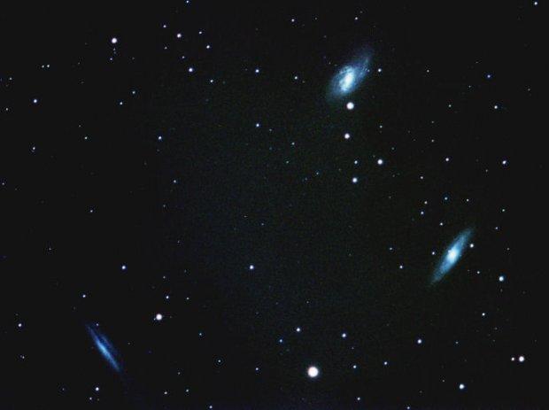 Leo Galaxy Triplet