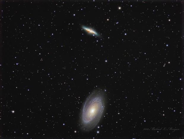M81 and M82 Galaxies in Ursa Major