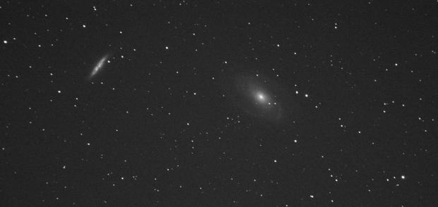 M81 Bodes Galaxy and M82 Cigar Galaxy