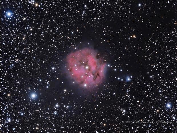 IC 5146 the Cocoon Nebula in Cygnus