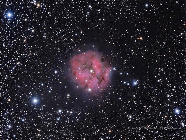 IC 5146 the Cocoon Nebula in Cygnus