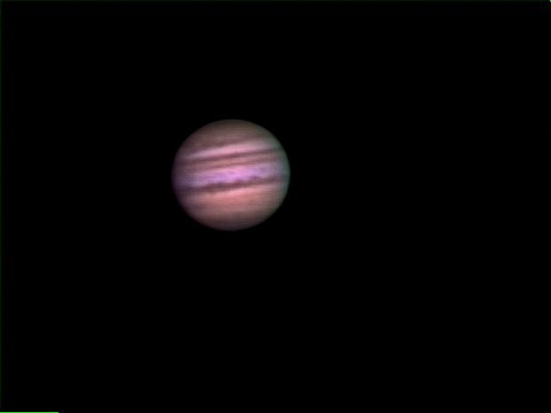 Jupiter on Night of July 18th/19th after the star party.