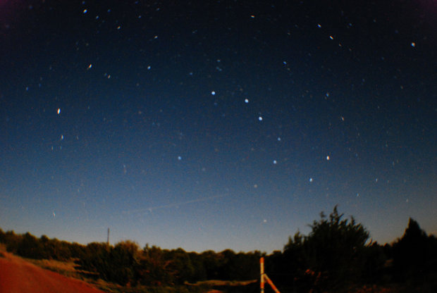 The setting Big Dipper, taken from a field outside Williams Arizona.