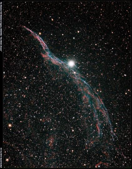 The Witch's Broom in Cygnus