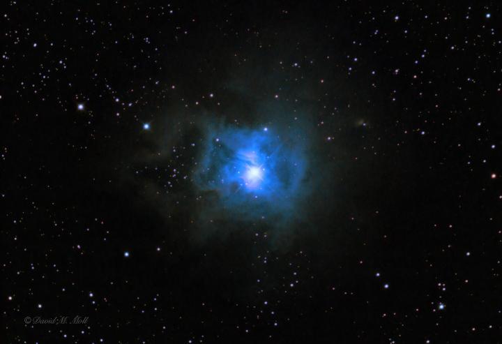The Iris Nebula in Cepheus