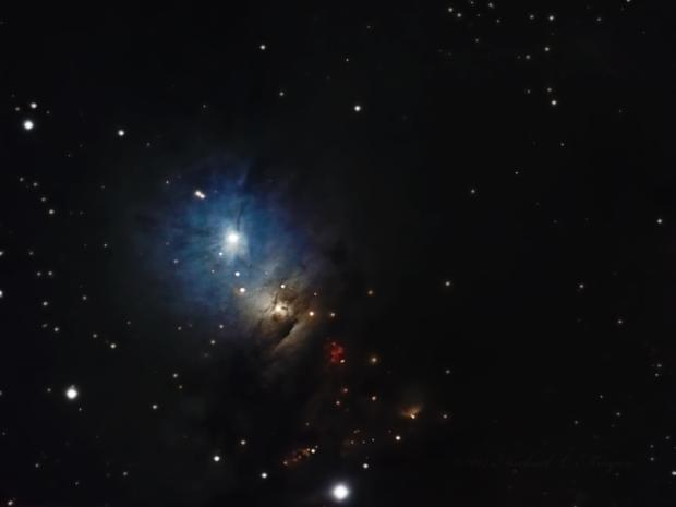 NGC 1333 Reflection Nebula in Perseus