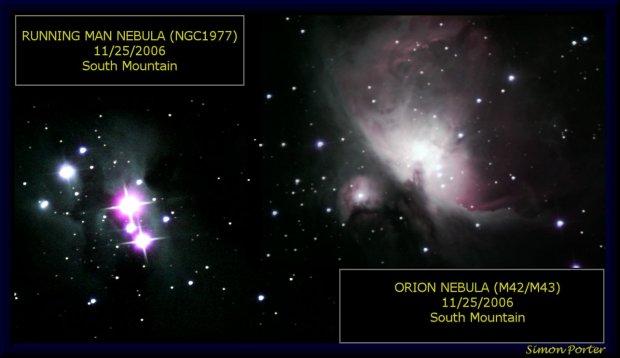 M42/M43 and NGC1977