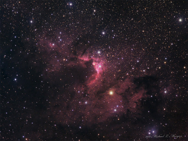Sh2-155 The Cave Nebula in Cepheus