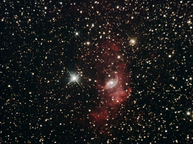 Bubble Nebula Aug 9th Pulpit Rock