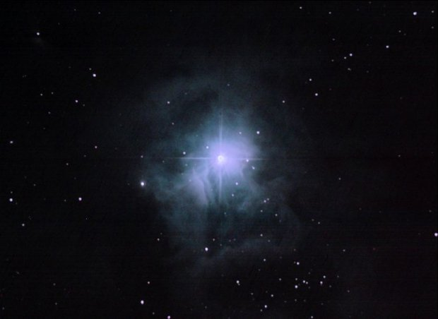 Iris Nebula (Caldwell 4) from Cherry Springs