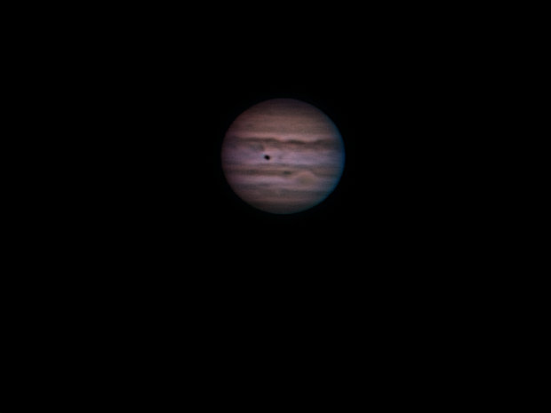 Jupiter, Aug 25th from Pulpit Rock.