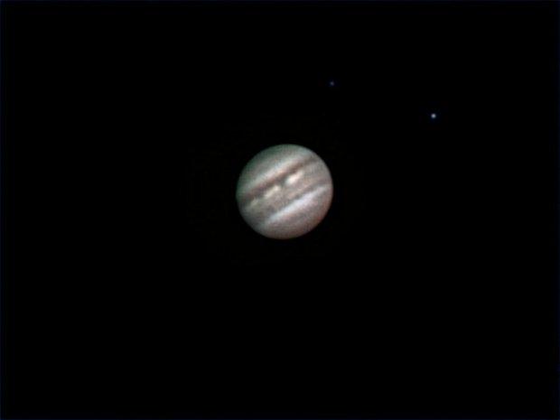 Jupiter from PR in wind