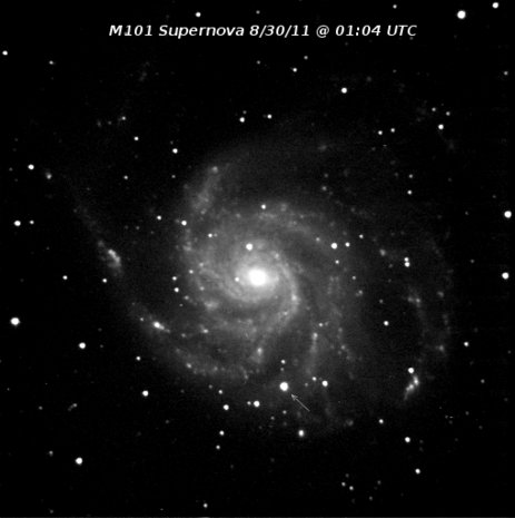 M101 Supernova ptf11kly