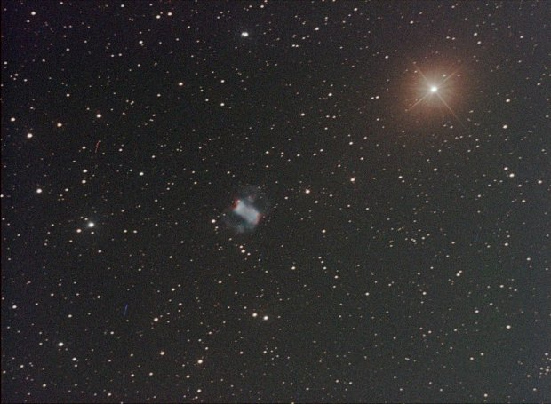 M76 The Little Dumbbell Nebula