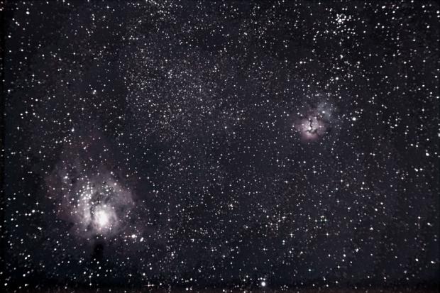 M008 Lagoon Nebula/M20 Trifid Nebula
