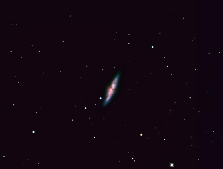 The Cigar Galaxy in Ursa Major