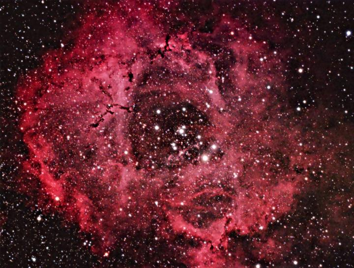 The Rosette Nebula in Monoceros