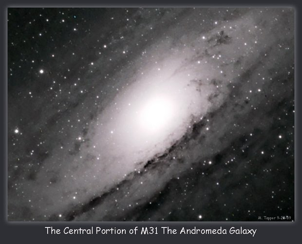 The Central Portion of M31 The Andromeda Galaxy