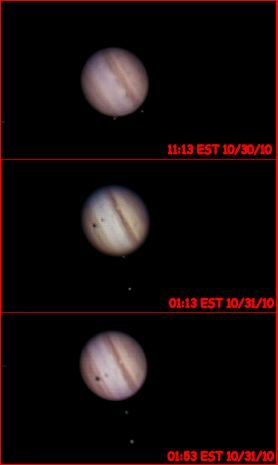 Jupiter on night of October 30th