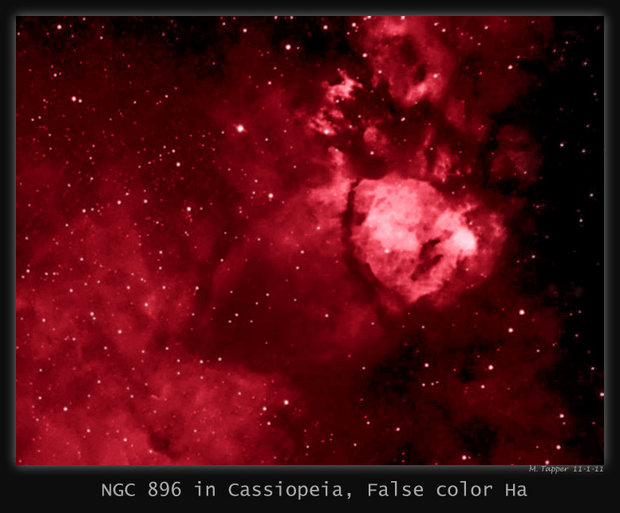 NGC 896 in Cassiopeia