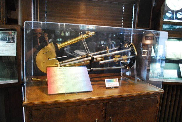 Vesto Slipher's specrograph.