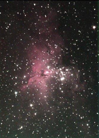 Eagle or Ghost Nebula - M16