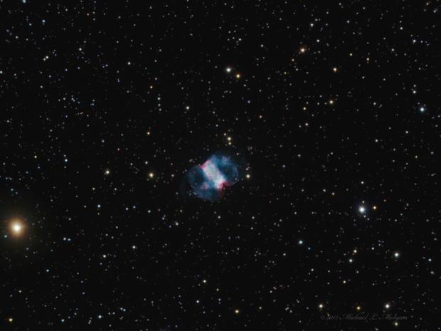 M76 The Little Dumbell Nebula