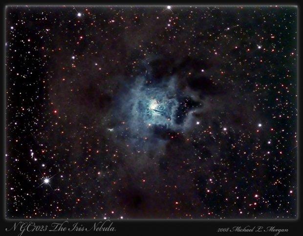NGC7023 The Iris Nebula