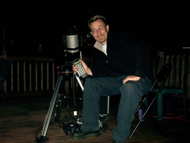 Me with Celestron 114GT