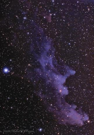 The Witch Head Nebula
