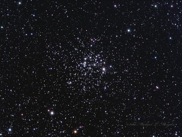 M52 Open Cluster in Cassiopeia