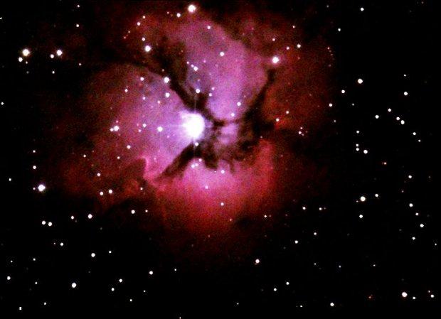 Part of Trifid Nebula