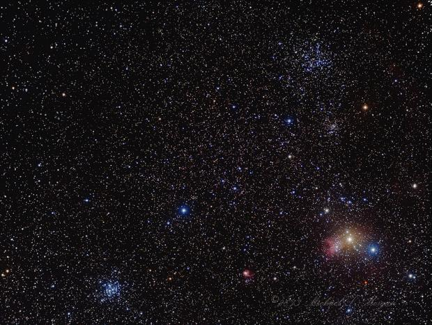 M38 and Friends in Auriga