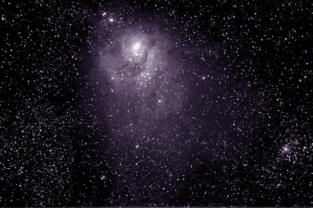 M008 Lagoon Nebula Wide Field