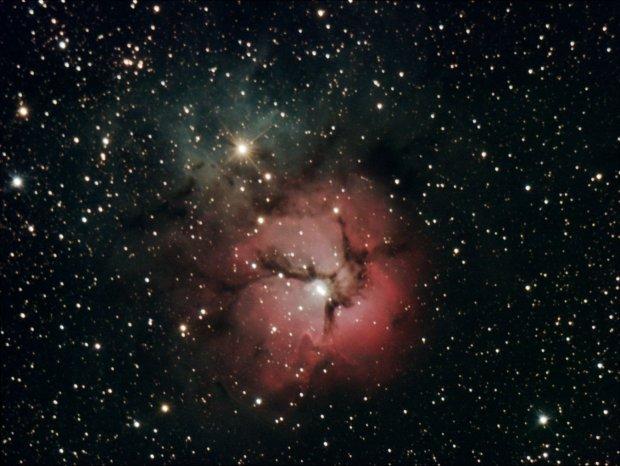 Trifid Nebula (M20) Night of Aug 9th at Pulpit Rock