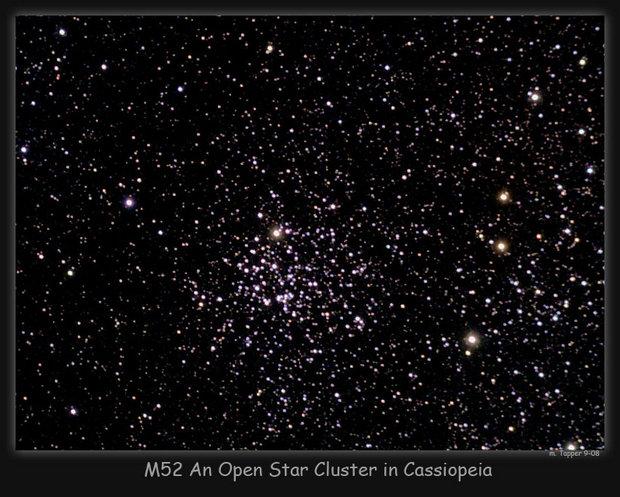 M52 in Cassiopeia