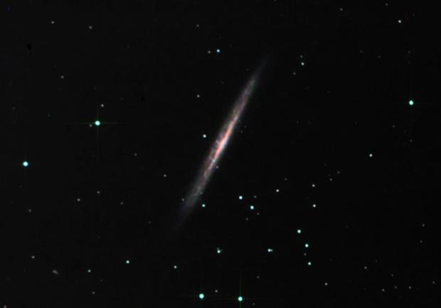 The Splinter Galaxy