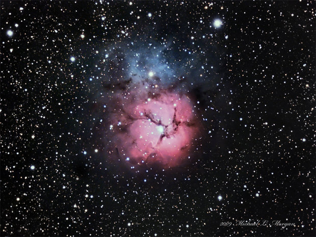 M20 The Triffid Nebula
