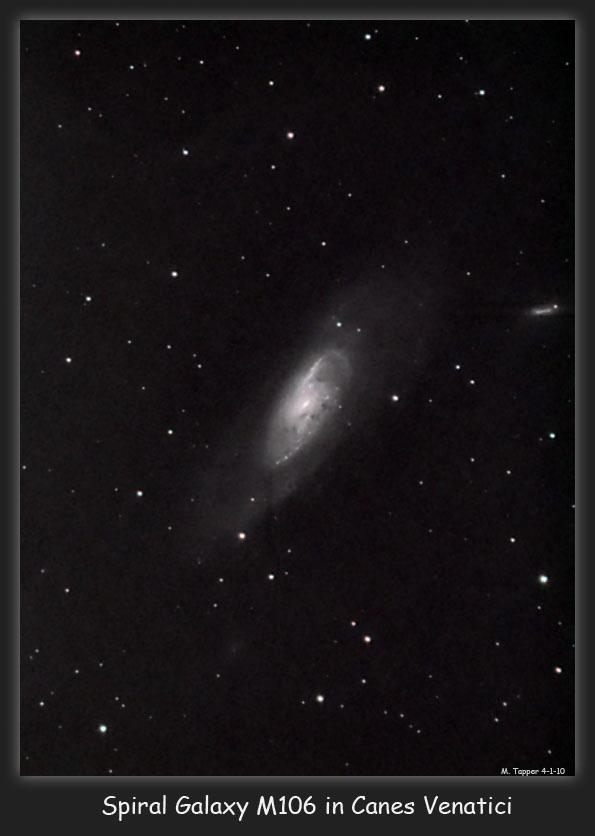 Spiral Galaxy M106, NGC 4258