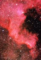 North America Nebula, NGC7000 (part), in Cygnus, AKA