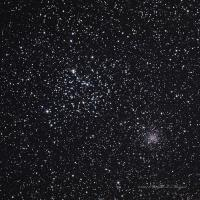 Open clusters M35 and NGC 2158 in Gemini Exposure Info: Taken at Highland lakes, NJ WO FLT-110 QSI583wsg LRGB L 40 x 2 minutes RGB 16 each @ 2 minutes binned 2x2