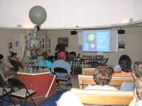 Jim Rittenburg gives Night Sky Network talk at Sept 9th \'06 star party