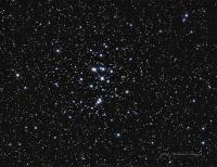M44 The Beehive cluster in Cancer. Exposure Info: Taken at Highland lakes, NJ WO 66SD QSI583wsg LRGB L 12 @ 4 minutes unbinned RGB 16 each@ 2 minutes