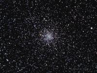 M71  a rather loosely concentrated globular cluster in Sagitta. Taken @ Cherry Springs State Park  August 16, 2012. Celestron C11 Starizona F7.5 SCT reducer QSI583wsg Baader LRGB filters. LRGB L 13 x 5 minutes binned 2X2, RGB 3 each at 4 mninutes binned 2x2